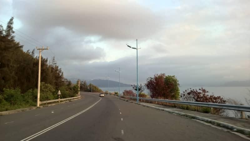 đường đi Bãi Tiên Nha Trang