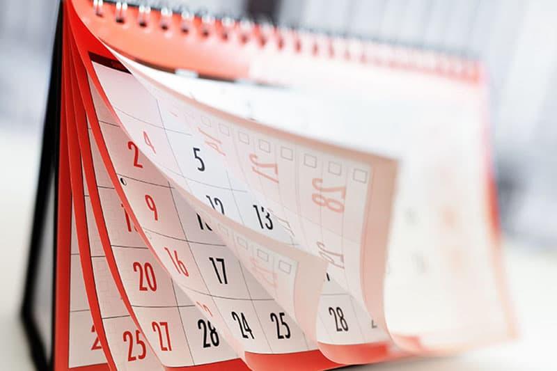 Cập nhật lịch nghỉ lễ năm 2019