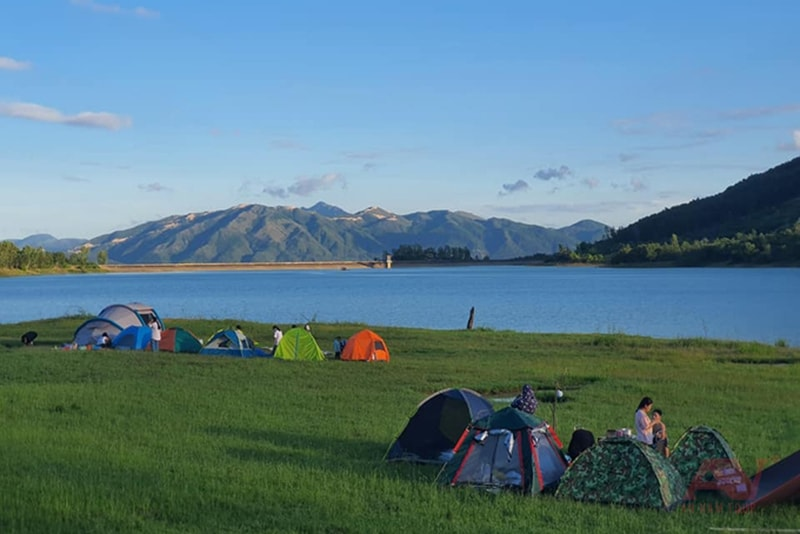 cắm trại Nha Trang hồ Am Chúa