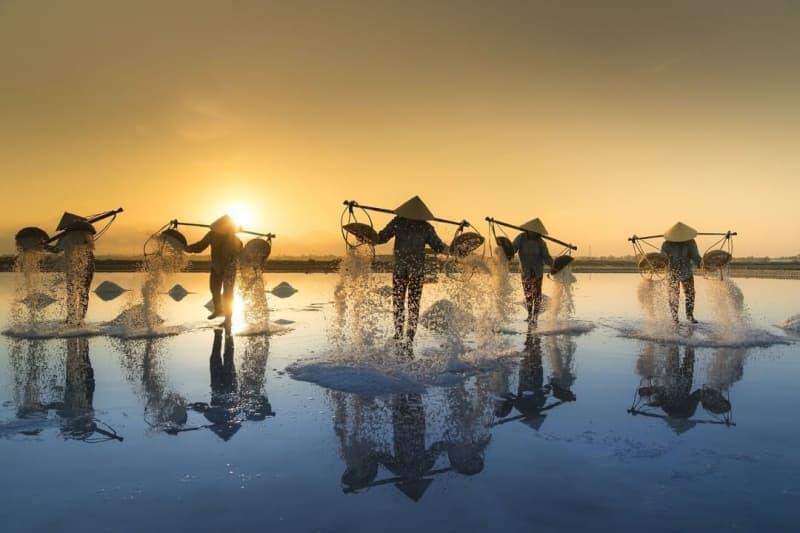Đồng muối Ninh Hoà - Địa điểm đốn gục các tay săn ảnh