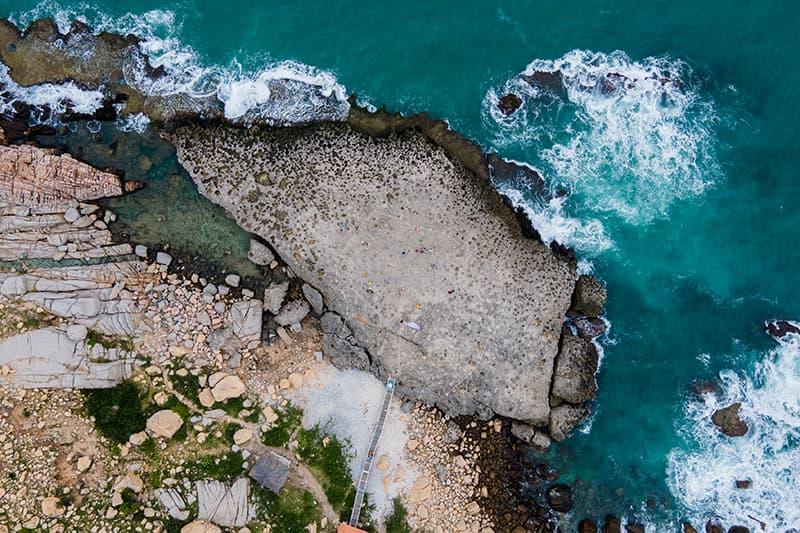 Hang Rái - Thác nước giữa biển và những bậc thềm thiên đường
