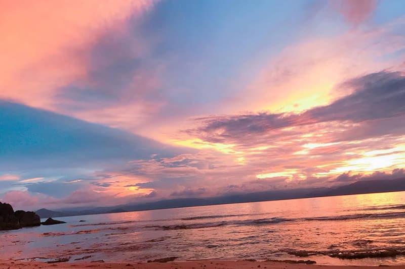 Hoàng hôn trên đảo Dừa
