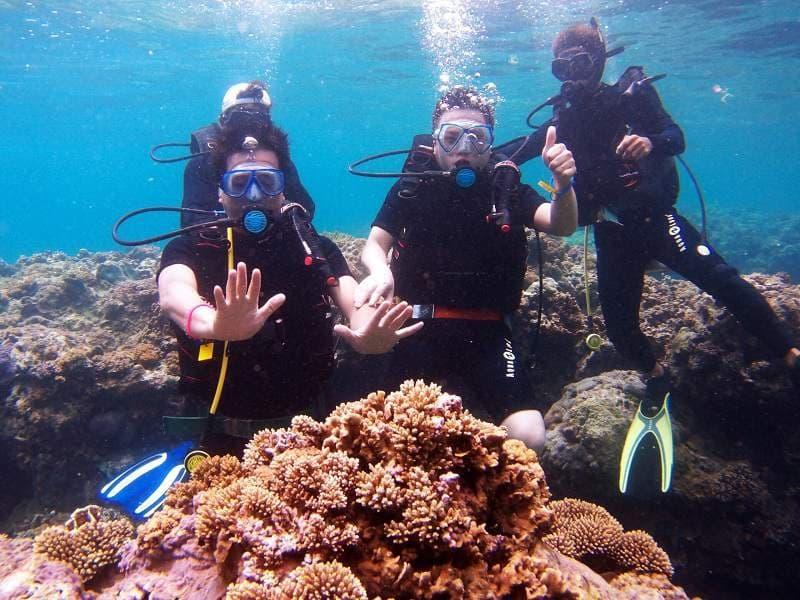 lặn biển tại đảo Hòn Mun Nha Trang