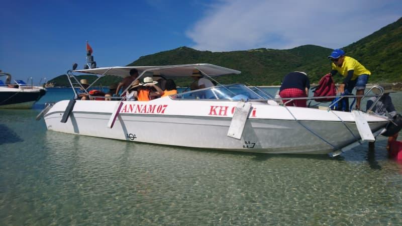 Kinh nghiệm thuê tàu đi đảo Nha Trang