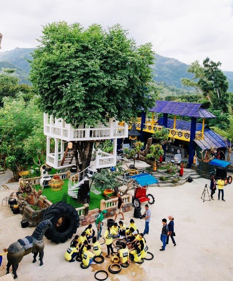Công viên lốp xe Nha Trang