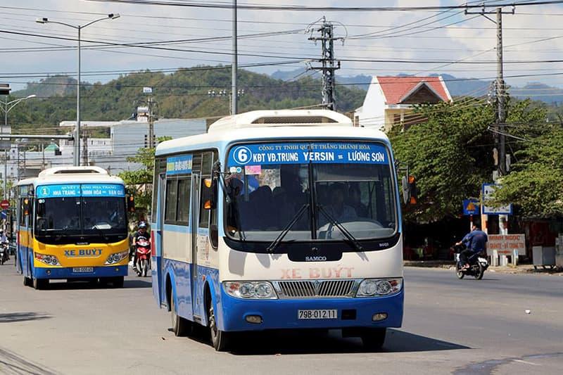 Lộ trình các tuyến xe bus Nha Trang (Kinh nghiệm Du lịch Nha Trang Tự Túc)