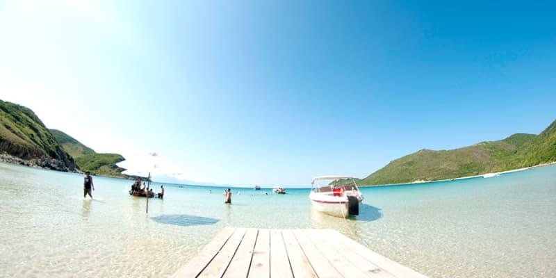 Một ngày khám phá bãi tắm Robinson Đảo Dừa Nha Trang