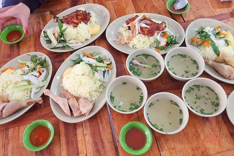 cơm gà Trâm Anh - quán cơm Nha Trang ngon