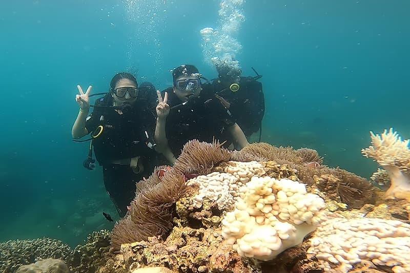 Review kinh nghiệm lặn biển từ chuyên gia
