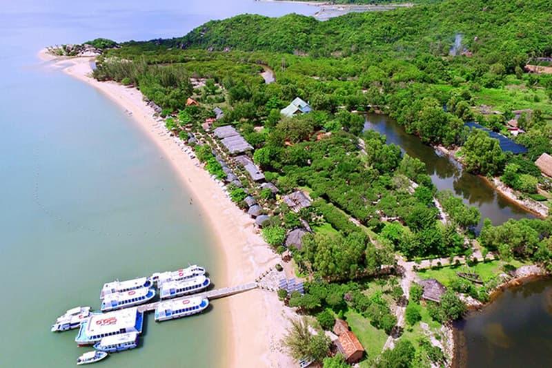 Vịnh Nha Phu - Đảo Khỉ - Suối Hoa Lan