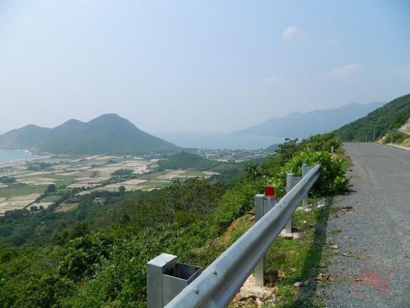 đường đi đến Vịnh Ninh Vân