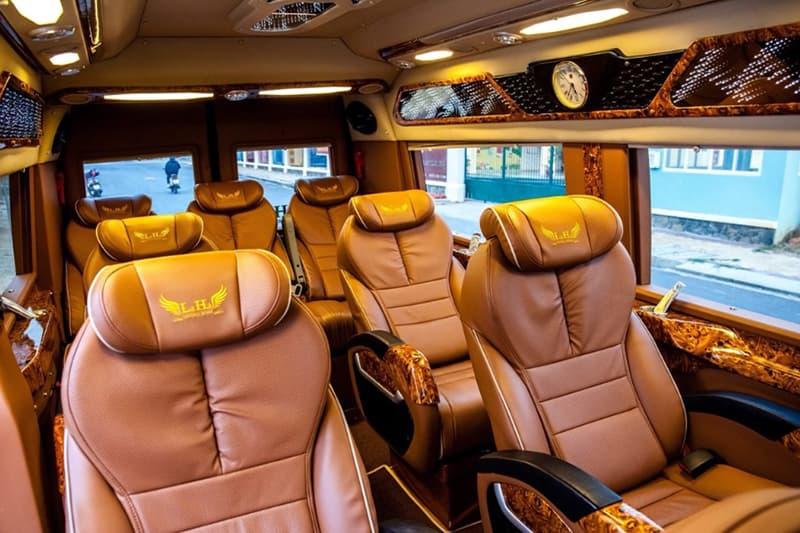 Xe giường nằm Limousine - Xe VIP 5 sao