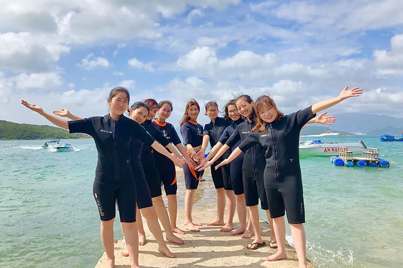 Tour lặn biển Hòn Mun - Ngày 10/01/2021