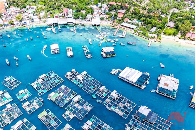 thực đơn cơm trưa - tour 3 đảo Nha Trang
