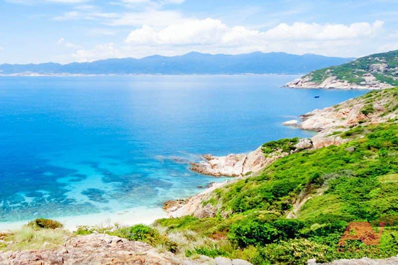 Một góc đảo Bình Ba