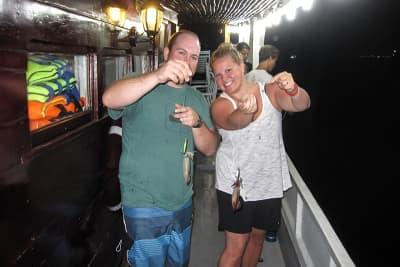 Tour câu mực đêm Nha Trang