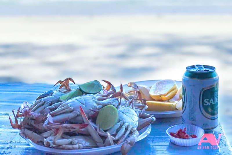 Thưởng thức hải sản
