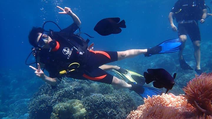 Một ngày vi vu Hòn Mun - Lặn biển ngắm san hô